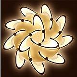Personalisierte LED-Kronleuchter Wohnzimmerbeleuchtung Moderne Blütenschöpfung Warm und romantisch Schlafzimmer Deckenleuchte , 12 head