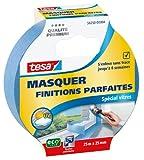 Tesa 56250-00004-00 - Nastro adesivo per mascheratura per finiture perfette, speciale vetri, 25 m x 25 mm