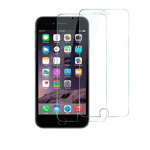 iPhone 6 Screen Protector, Anker Premium Tempered Glass Screen Protector (4.7 inch) for Apple iPhone 6 (2014) 9H Hardness and Easy Bubble-Free Installation [Lifetime Warranty] Test