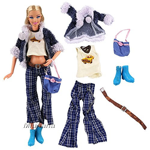Mattel Barbie Vestiti Barbie Lsg Vestiti Barbie Fashionistas Vestiti Lsg Fashionistas Mattel HUAPf