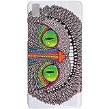 Voguecase® Para BQ Aquaris E5 TPU Funda de Silicona de Gel Carcasa Tapa Case Cover (20150609-patrón 05) + Gratis aguja de la pantalla stylus universales