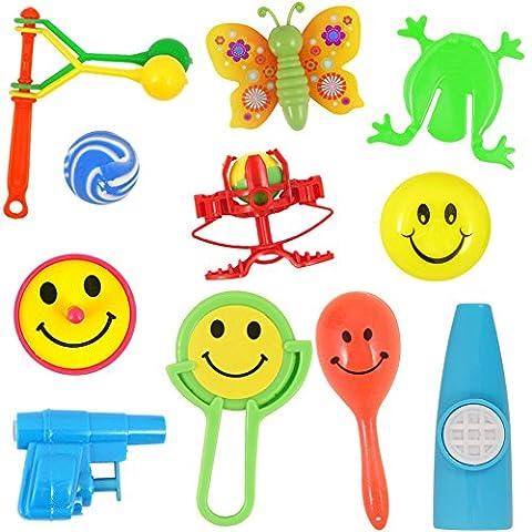German Trendseller® - 20 x Mitgebsel - Spielzeug Mix -┃ Kindergeburtstag ┃ Kinder Party ┃ 20 Stück