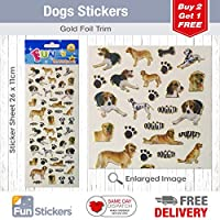 Fun Stickers Dogs 313