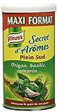 Knorr Assaisonnement en Poudre Secret d'Arômes Plein Sud Tube 145 g - Lot de 4