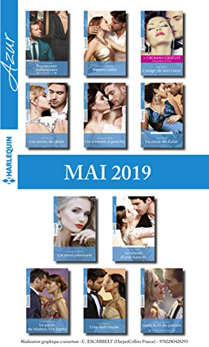 11 romans Azur + 1 gratuit (n°4081 à 4091 - Mai 2019) (French ...