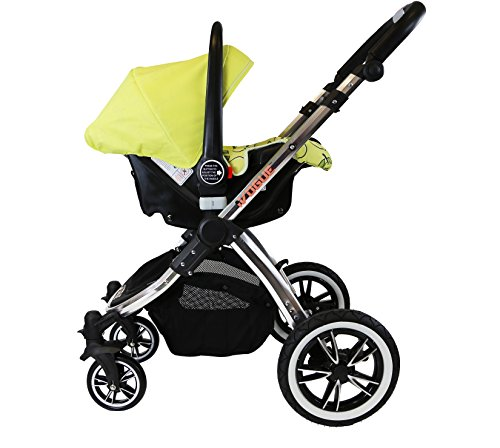 iVogue – Pear Luxury 3in1 Pram Stroller Travel System by iSafe (Complete with Carseat)