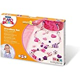 Staedtler 8033 01 - Fimo kids Create & Play Jewellery Hearts, Level 2
