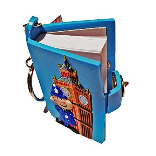 big-ben-london-clocktower-portable-journal-keychain-notebook-key-chain-keychain-keyring-uk-key-ring-