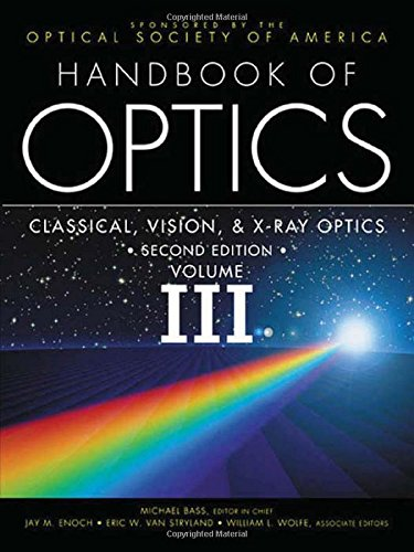 3: Handbook of Optics,  Volume III