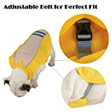 SymbolLife Kühlweste für Hunde Vest Selbstkühlend Atmungsaktiv Blau/Gelb (XL, Gelb) - 4