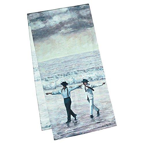 VON LILIENFELD Seidenschal LUXUS Damen Satin lang (172 x 42 cm) Kunst Seide Theo Michael Sirtaki