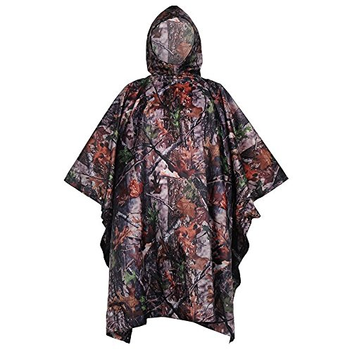 DYEWD Regenmantel,Outdoor-Sport-Regenmantel, wasserdichter Poncho-Regenmantel, REIT-Regenmantel, Camouflage-Wanderregenmantel, hochwertiger Regenmantel, d