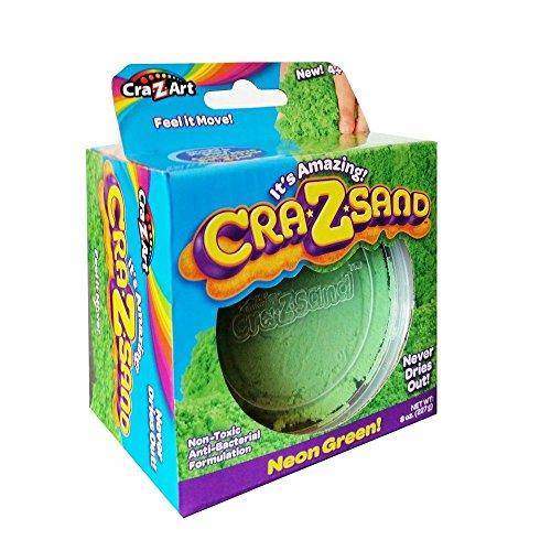 Cra-Z-Sand 8 Unzen Nachfüllpack - Neon Green (Versand aus UK)