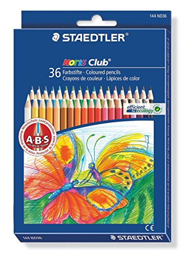 Staedtler 144ND36 Noris Club - Lápices de colores (36 unidades) [importado de Alemania]