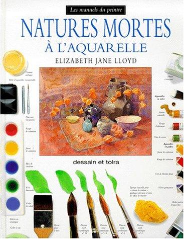 Nature morte à l'aquarelle par Elizabeth Jane Lloyd