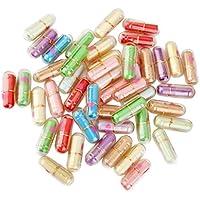 perfk 50 Stück Transparent Herzdruck Ausdruck Kapsel Geschenk Pille Mit Dem Wunsch Papier preisvergleich bei billige-tabletten.eu
