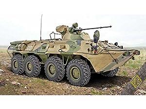 Ace ace72172-Maqueta de BTR 1skb-80a Soviet Armored Personnel Carrie