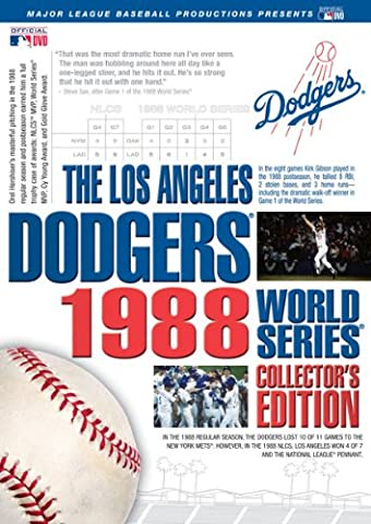 Los Angeles Dodgers: 1988 World Series Collector's [DVD] [Region 1] [US Import] [NTSC]