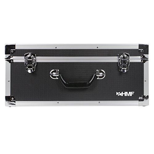HMF 18601-02 Transportkoffer passend Phantom 3 Standard, Professional, Advanced Drohne, bis zu 5 Akkus, 54 x 38 x 25 cm, schwarz - 6