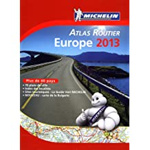 Atlas routier Michelin Europe 2013