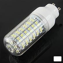 SRY-Bombillas GU10 8W caliente blanco 108 LED SMD 3528 bombilla de maíz, AC 220V, 3000K-3500K Seguro y estable, fiable. ( SKU : S-led-1436w )