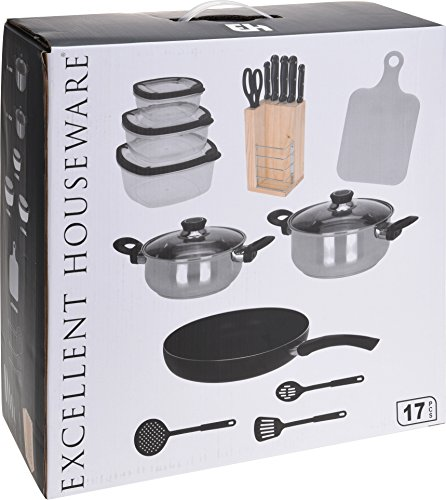 initial-equipment-set-2-pots-with-glass-lid-1-pan-cooking-knife-block-set-cutting-board-3-piece-stor