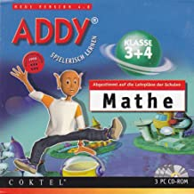 Addy Spielerisch Lernen, Mathe Klasse 3 + 4, 1997