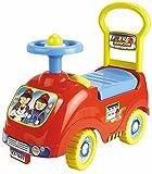 Rutschauto in 10 verschiedenen Modellen - Ein guter und preiswerter Aufsitzwagen Rutschwagen Lauflernwagen Kinderfahrzeug, Modell:Red Fireman