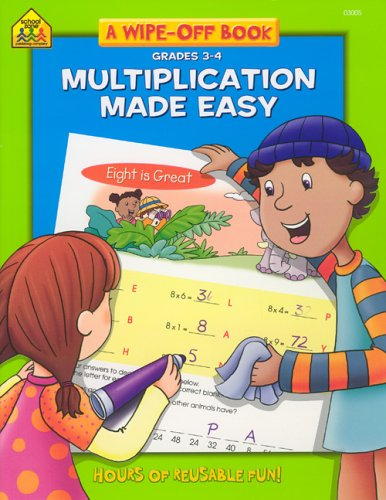 Multiplication Facts Made Easy 3-4 Write and Reuse Workbook (Reuse Llc Books)