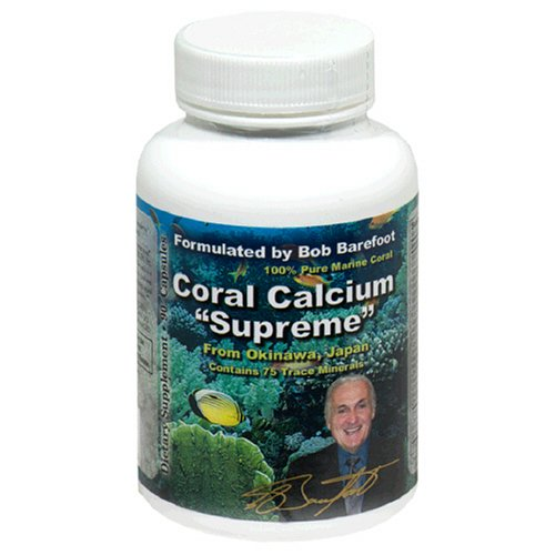 Coral Calcium Supreme 1000mg Formulated & Endorsed by Bob Barefoot