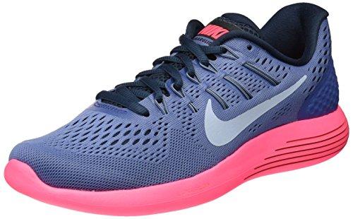 Nike Lunarglide 8, Scarpe Running Donna Blu (armure Blue Moon / Lt Armory Blue-racer Rose-armurerie)