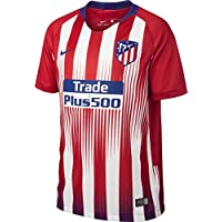 Nike ATM Y Nk BRT Stad JSY SS Hm Camiseta, Unisex niños, Rojo/Blanco / Azul (Sport/Deep Royal), L