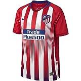 Nike ATM y Nk BRT Stad JSY SS Hm Camiseta, Unisex Niños, Rojo/Blanco / Azul (Sport/Deep Royal), M
