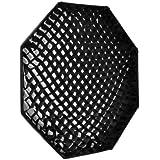 Grille walimex pro pour diffuseur parapluie Octagon Ø90 cm