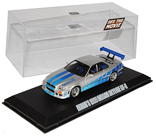 nissan-skyline-r34-gt-r-silber-1998-2002-brian-o-connor-fast-and-furious-1-43-greenlight-minichamps-