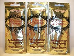 3 Packets Billionaire Bronzer Tone Tighten & Energize .7oz by Ed Hardy