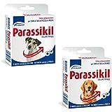 Parassikil - Collar antiparasitario para perros de talla grande contra pulgas y garrapatas