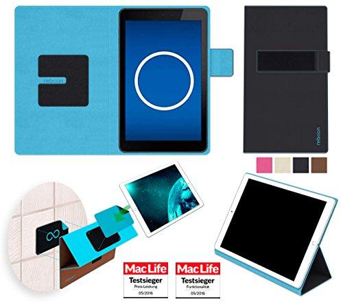 reboon Hülle für Dell Venue 7 3741 Tasche Cover Case Bumper | in Schwarz | Testsieger