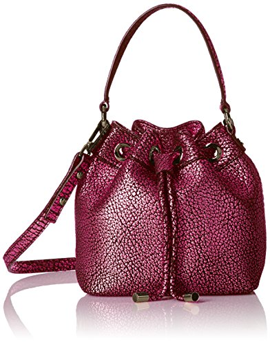 Milly Damen Astor, metallic Sm, Kordelzug, rose, Einheitsgröße Astor Rose