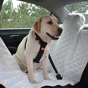 Autoschondecke, Autoschutzdecke, Hundedecke, mit Reißverschluß teilbar