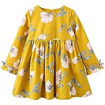 41aad0b514 Vestido niña ❤ Amlaiworld Vestido de fiesta princesa de niñas Bebé Londo  Vestido de manga