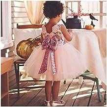vívido y de gran estilo Calidad superior descuento de venta caliente Amazon.es: vestidos bautizo para nina