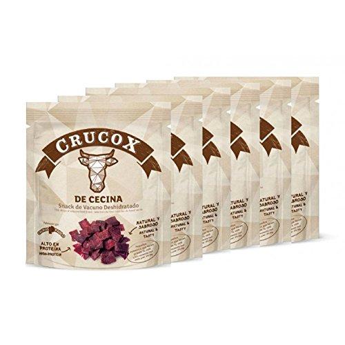 Snack de Cecina Crucox 25g - Pack 6 unds.