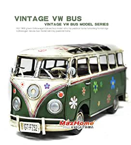 metall klassisch alt retro dekor modell handgemacht vw bus gr n k che haushalt. Black Bedroom Furniture Sets. Home Design Ideas
