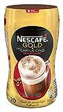 Nescafé Gold Typ Cappuccino Entkoffeiniert löslicher Bohnenkaffee (aus erlesenen Kaffeebohnen, ohne Koffein, mit extra viel Schaum) 1 Dose (1 x 250g)