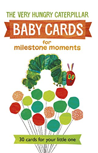 Very Hungry Caterpillar Baby Cards for Milestone Moments por Eric Carle