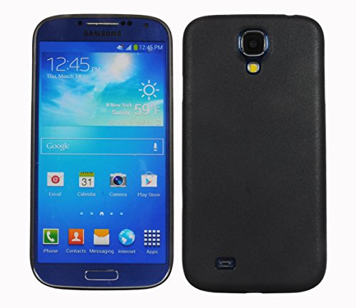 Galaxy S4 i9500 Cover, Ultra Slim Frosted Case Back Cover Slimline Case for Samsung Galaxy S4 i9500 (Black)