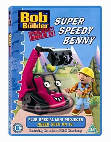 Bob the Builder: Project, Build It - Super Speedy Benny [DVD]