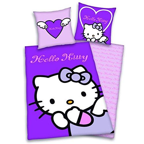 "Original Bettwäsche ""Hello Kitty"" lila *NEU*OVP*"