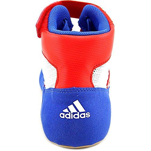 Adidas Hvc Stringate Wrestling Scarpe - 14 - blu / rosso / bianco Blue/VivRed/FtwWht